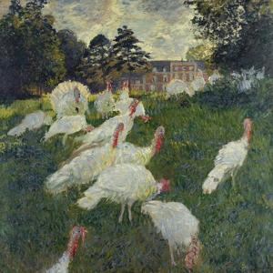Les Dindons (The Turkeys) by Claude Monet
