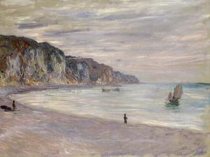 Les Falaises a Pourville, 1882 by Claude Monet