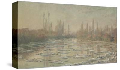 Les glaçons ou Débâcle sur la Seine