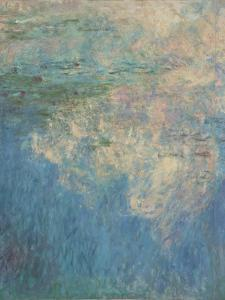 Les Nymph� : les Nuages by Claude Monet
