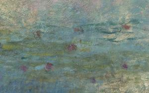 Les Nymph� : les Nuages by Claude Monet