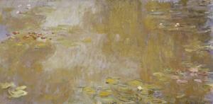 Les Nymphéas à Giverny by Claude Monet