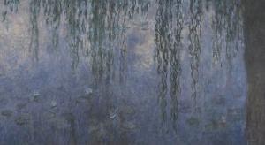 Les Nymphéas : Le Matin aux Saules by Claude Monet