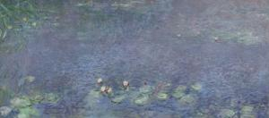 Les Nymphéas : Matin by Claude Monet