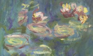 Les Nymphéas : Reflets verts by Claude Monet