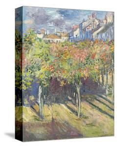 Les Tilleuls a? Poissy, 1882 by Claude Monet