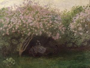 Lilacs, Grey Weather, c.1872-73 by Claude Monet