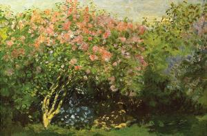 Lilacs in the Sun by Claude Monet