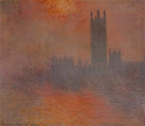 London Houses of Parliament by Claude Monet