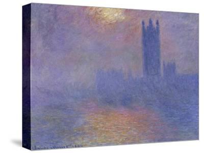 London Parliament in the Fog, c.1904