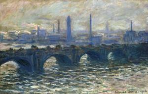 London, Waterloo, 1902 by Claude Monet