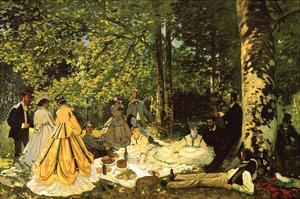 Luncheon on the Grass by Claude Monet