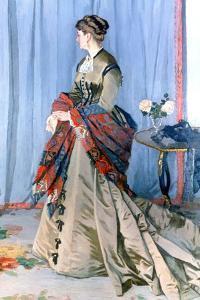 Madame Gaudibert, 1868 by Claude Monet