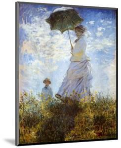 Madame Monet and Her Son by Claude Monet