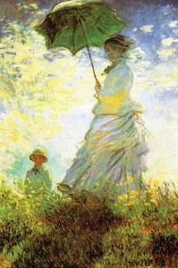Madame Monet and Son by Claude Monet