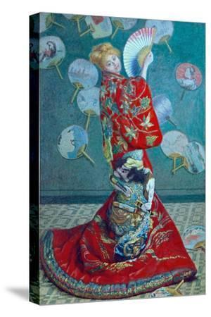Madame Monet in a Kimono (La Japonaise), 1876