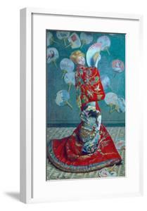 Madame Monet in a Kimono (La Japonaise), 1876 by Claude Monet