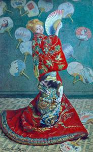 Madame Monet in a Kimono (La Japonaise), 1876 by Claude Monet