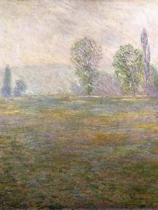 Meadows at Giverny, 1888 by Claude Monet