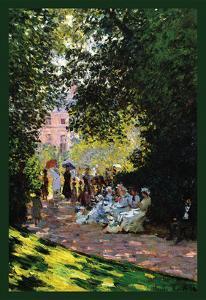 Monceau Park by Claude Monet