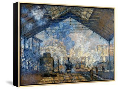 Monet: Gare St-Lazare, 1877