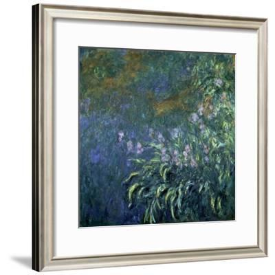 Monet: Irises By The Pond