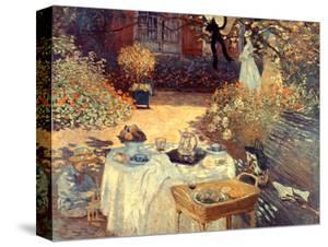 Monet: Luncheon, C1873 by Claude Monet