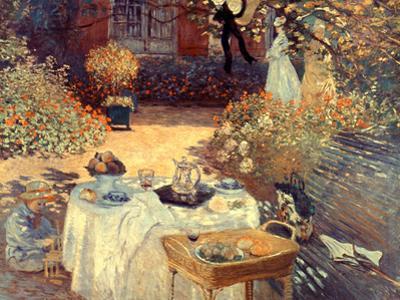 Monet: Luncheon, C1873
