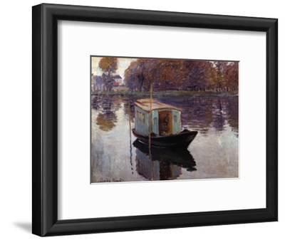 Monet's Studio Boat