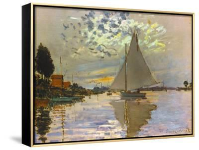 Monet: Sailboat by Claude Monet