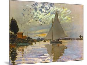 Monet: Sailboat by Claude Monet