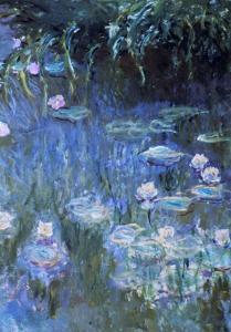 Monet: Waterlilies by Claude Monet