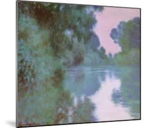 Morning On Seine by Claude Monet