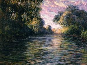 Morning on the Seine, 1897 by Claude Monet