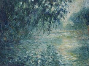 Morning on the Seine, 1898 by Claude Monet