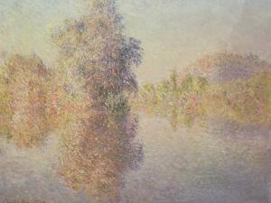 Morning on the Seine at Giverny, 1893 by Claude Monet