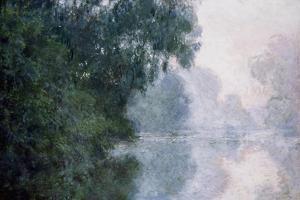 Morning on the Seine, Effect of Mist; Matinee Sur La Seine, Effet De Brume, 1897 by Claude Monet