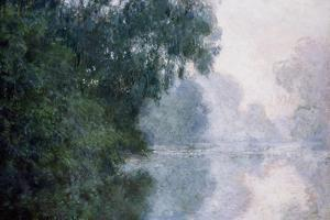 Morning on the Seine, Effect of Mist by Claude Monet