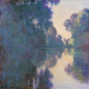 Morning on the Seine near Giverny, 1897 by Claude Monet