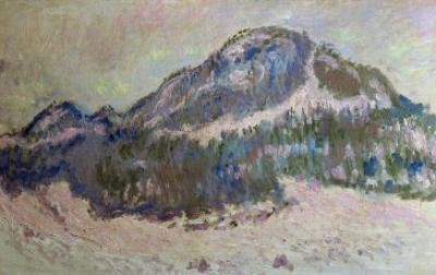 Mount Kolsaas in Norway, 1895