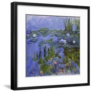 Nymphéas, 1913 by Claude Monet