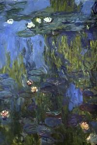 Nympheas, 1914-17 by Claude Monet