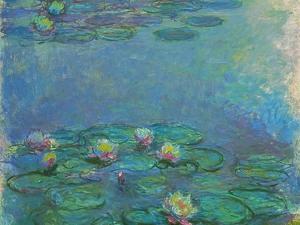 Nymphéas, 1914/1917 by Claude Monet