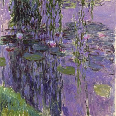 Nympheas, 1916-19 by Claude Monet