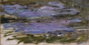 Nympheas, c.1917-18 by Claude Monet