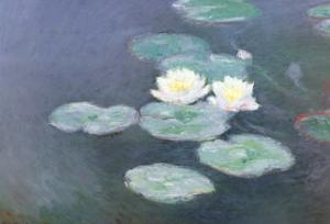 Nympheas Effet du Soir by Claude Monet