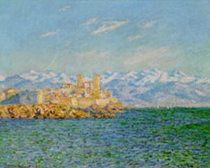 Old Fort At Antibes by Claude Monet