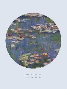 Old Masters, New Circles: Water Lilies (Nympheas), c.1916 by Claude Monet