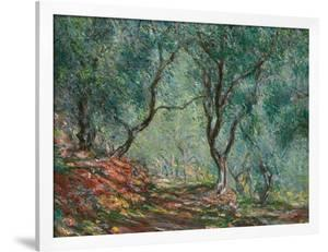 Olive Trees in the Moreno Garden, 1884 by Claude Monet