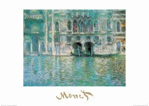 Palazza da Mula a Venezia by Claude Monet